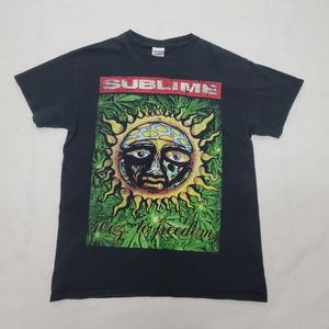 Sublime 40 oz. To Freedom T shirt Med Gildan